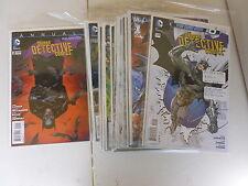 BATMAN DETECTIVE COMICS   NEW 52  SET    # 0 - 29 PLUS ANNAUL