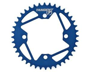 Tangent Halo 4-Bolt Chainring (Blue)