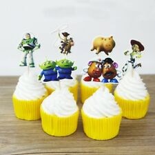 NEW Toy Story Theme Character Cupcake Toppers x 24 - For Parties