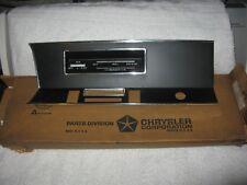 NOS Mopar 1968 Plymouth Valiant Signet Radio Bezel