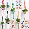 Pot Holder Macrame Plant Hanger Hanging Planter Basket Nylon Braided Rope Craft