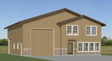 44x48 House with 1-RV Garage - PDF FloorPlan - 2,185 sqft - Model 2G