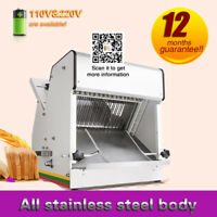 Bread slicer commercial toast slicer commercial electric bread cutting machine