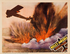 """Hell's Angels Lobby Card Movie Poster Replica 14 x 11"""" Photo Print"""