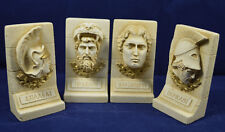 Alexander the Great Heracles Achilles Pericles ancient Greek sculpture set