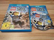 Lego City Undercover Para Nintendo Wii U Completa