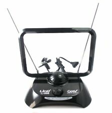 Antenna Digitale Linq Tv Dvb-T Amplificata 38dbi Full Hd Vhf Uhf Li-99b