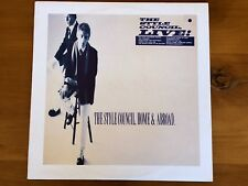 Style Council Home & Abroad Vinyl LP Record Early Limited Edition Live