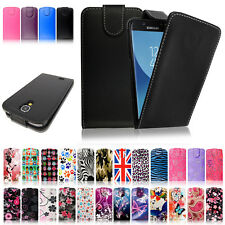 Leather Magnetic Flip Wallet Case Cover For Samsung Galaxy S7 Edge S6 S5 A3 A5