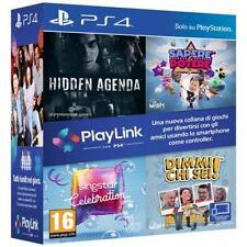 Sony Ps4 - Playlink Software Bundle Hidden Agenda sapere potere Singstar