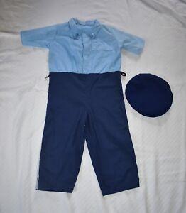 Beastly Buddies 6 Boys Police 1 Piece Bodysuit Costume Halloween Dress Up Boys