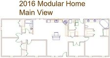 2016 Modular Home Floor Plan