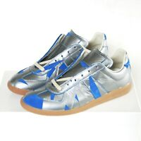 MAISON MARTIN MARGIELA duct tape blue suede sneakers shoes army trainers 42 NEW