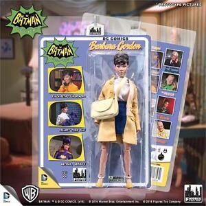 Batman 1966 Tv Series 5; BARBARA GORDON/ BATGIRL 8 INCH FIGURE MOSC NEW