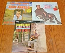 Lot of 3 Eddy Arnold Lp Albums Let's Make Memories, Living Legend, Country Songs