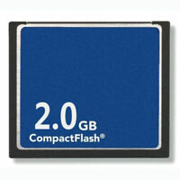CompactFlash 2GB Standard CF Memory Card Generic Brand NEW W/Case
