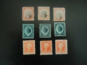 US revenue stamps, No cancel