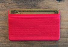 GIGI Mobile Cell Phone Finger Strap Gripper w/ Credit Card Holder/Wallet (Red)
