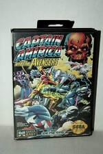 CAPTAIN AMERICA AND THE AVENGERS USATO SEGA GENESIS EDIZIONE AMERICANA DM1 41039