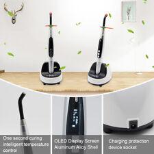 1Second Dental Wireless LED Curing Light 9W≥2300mw/cm2 JAS-2002 Metal Blue Light