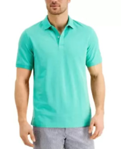 CLUB ROOM Catalina Green Performance Stretch Men's Golf Polo Shirt NEW Large L