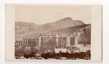 Vintage CDV Holyrood Palace Edinburgh Scotland Royal residence