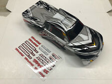 Traxxas Stampede Painted Gray Body w/ Decals