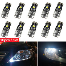 10pcs T10 168 2825 W5W 194 LED Bulb 3030 SMD 24 LED Interior Car Light Bulbs 12V