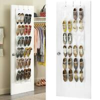 Home Door Back Shoe Organizer Rack Hanging Storage Holder Hanger Bag Closet