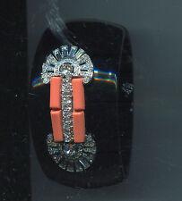 KENNETH LANE deco black coral bracelet