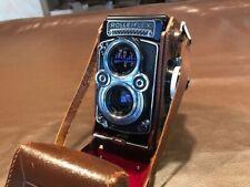 Rolleiflex 3.5F Franke & Heidecke Germany Camera with Original Case