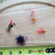 Custom fly fishing flies lures (lot#7037)