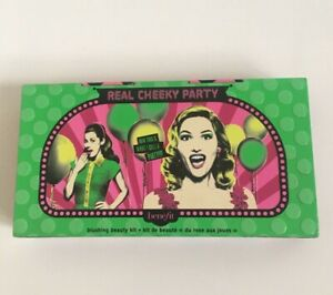 BENEFIT MAKE UP STORAGE TIN - REAL CHEEKY PARTY