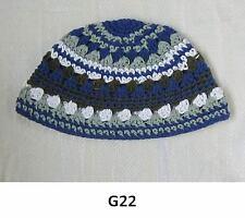 Frik Kippah Hat Kippa Knit Yamaka Kippot Kippot 26X15Cm Yarmulke Jerusalem Freak