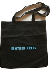 Black Canvas Tote Bag / Other Press