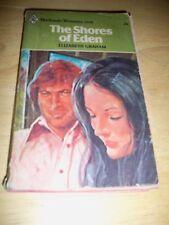 HARLEQUIN THE SHORES OF EDEN BY ELIZABETH GRAHAM (PAPERBACK 1977)