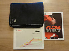 Seat Leon Owners Handbook/Manual and Pack 13-14