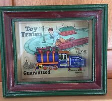 Shadow Box Express Shadows OF Yesterday TOY TRAINS, Toys in the Cupboard JJ 1118