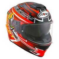 Casco integrale moto Suomy Stellar Boost orange pinlock sport touring
