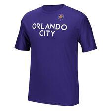 Orlando City SC MLS Adidas Men's Replica Team Jersey Purple T-Shirt