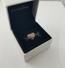 Pandora Love and Appreciation Openwork Charm ALE R 780003CZ with 14ct Rose GP