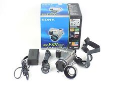 Sony Cyber-Shot DSC-F707 5.0MP Digital Camera - Silver