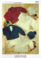 1932 Sirdar Crofter Knitting Pattern: Baby /& Girls Cardigans 0-7years DK