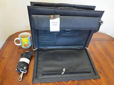 Briefcase Document Organiser Case laptop case leather case carry case satchel