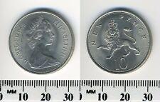 GREAT BRITAIN 1968 - 10 New Pence Copper-Nickel Coin - Queen Elizabeth II