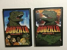 GODZILLA: THE ORIGINAL ANIMATED SERIES VOLUME 1 & 2 (Lot of 2 DVDs, 2006)