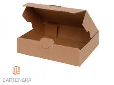 Maxibriefkartons 160x110x50 mm braun   Warensendung Versand Karton Faltschachtel