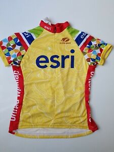 NWT 2015 esri VOLER Cycling Short  Sleeve Zip-up Jersey Women Size S