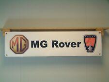 MG Rover Banner Automotive Car Bage logo Workshop Garage Advertising sign poster