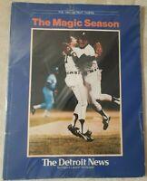 1984 Detroit Tigers The Magic Season Detroit News World Series